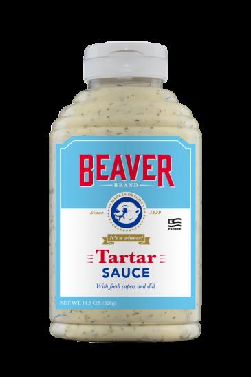 Beaver Brand Tartar Sauce front 11.5oz
