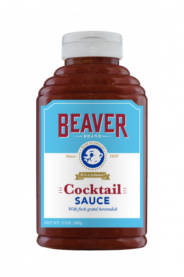Beaver Brand Cocktail Sauce front 13oz