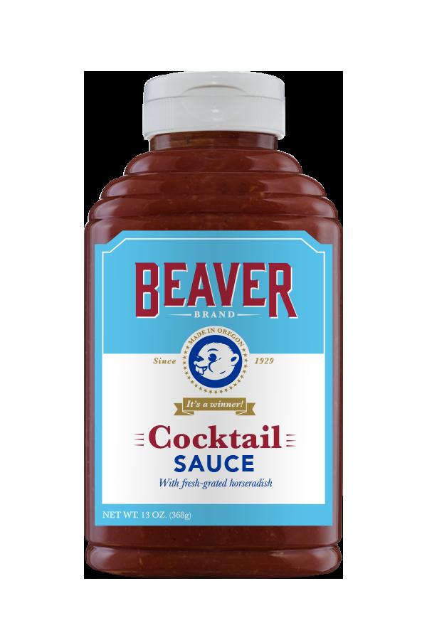 Beaver Brand Cocktail Sauce front 13oz