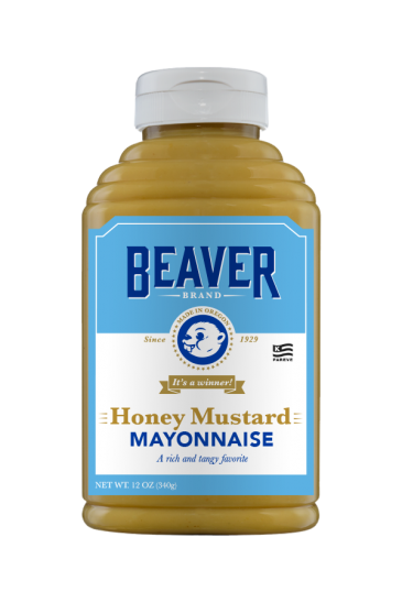 Beaver Brand Honey Mustard Mayonnaise front 12oz