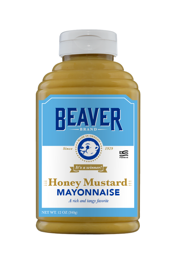 Beaver Brand Honey Mustard Mayonnaise front 12oz