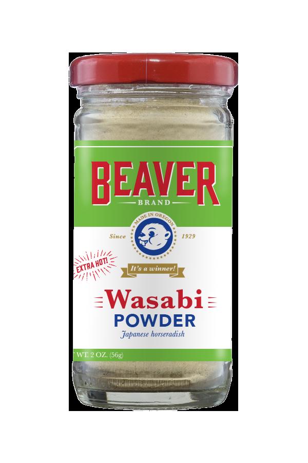 Beaver Brand Wasabi Powder front 2oz