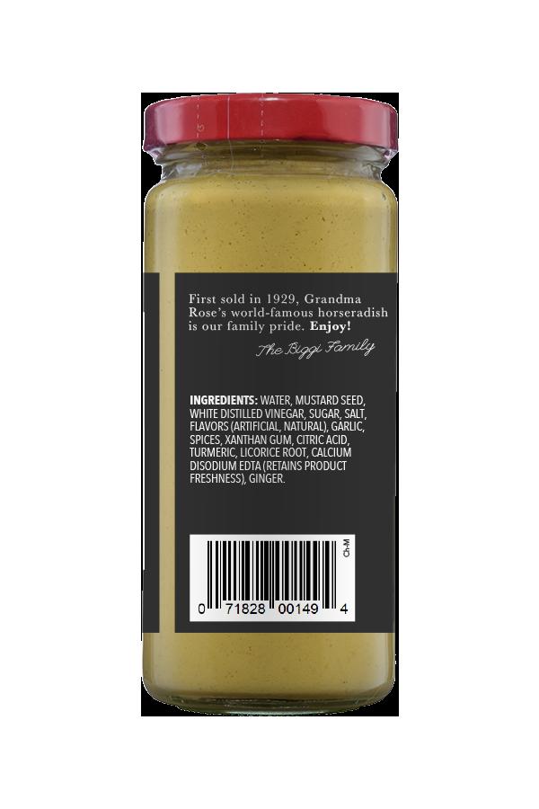 Beaver Brand Chinese Mustard ingredients 8.75oz
