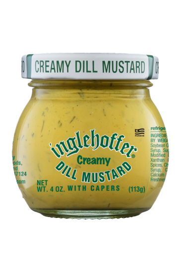 Inglehoffer Creamy Dill Mustard front 4oz