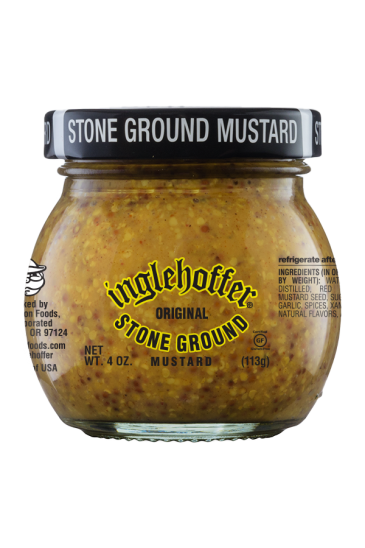 Inglehoffer Original Stone Ground Mustard front 4oz