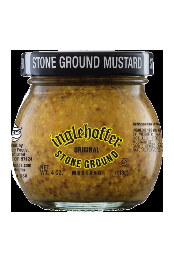 Inglehoffer Original Stone Ground Mustard front 4oz