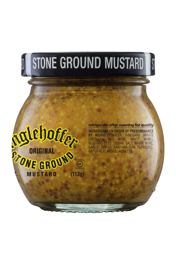 Inglehoffer Original Stone Ground Mustard ingredients 4oz