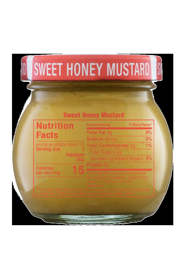 Inglehoffer Sweet Honey Mustard nutrition 4oz