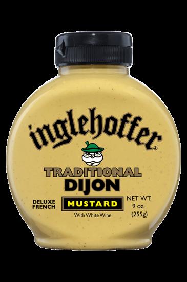 Inglehoffer Traditional Dijon Mustard front 9oz