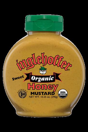 Organic Inglehoffer Honey Mustard front 10.25oz