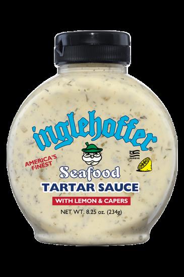 Inglehoffer Seafood Tartar Sauce front 8.25oz
