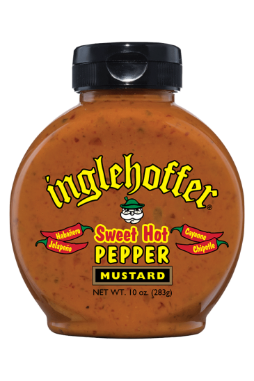 Inglehoffer Sweet Hot Pepper Mustard front 10oz