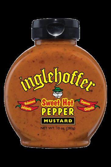 Inglehoffer Sweet Hot Pepper Mustard front 10oz