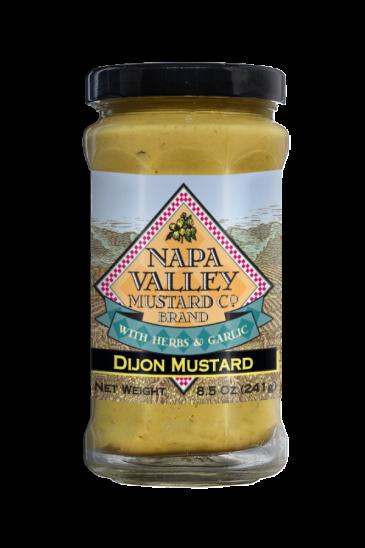 Napa Valley Dijon Mustard front 8.5oz